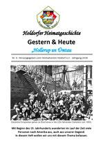 Holdorfer Heimatgeschichte Heft Nr. 6