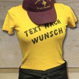 """T-Shirt """"Wunschtext"""""""