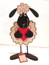 Schaf aus Holz