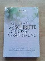 """Buch """"kleine Schritte, Große Veränderung"""""""