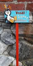 """Pinguin """"Vorsicht Glatteis"""""""