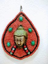 Maschera buddha