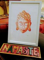 Buddha  arancio