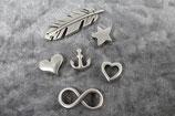 Metallschiebeperle für dein Armband!