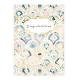 """Geschenkkarte """"congrats"""""""
