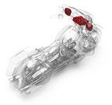 ROCKFORD Kit Harley-Davidson HD9813SG-STAGE3