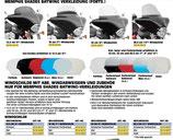 MAX-MS-JAP-Windschutzscheiben für Memphisshades - Frontverkleidungen