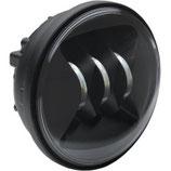 """MAX-JW-20011157-Zusatzscheinwerfer 4,5"""" Schwarz oder Chrom für Touring/Softail"""