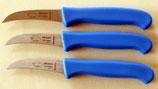 3 Stück Schälmesser, Küchenmesser Obstmesser Arbeitsmesser!!! Messerset Art. Nr.12