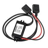 Lunatronic 12V zu 2x 3A USB Wandler/Adapter