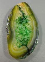 #пк395 Подвеска агат зеленый
