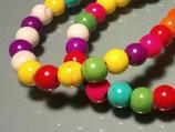 #кмш215 Говлит  разноцветный 6 мм