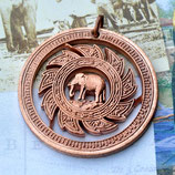 Thailand Elefant Sonnenrad