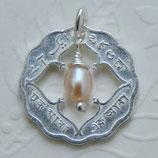 Indien Anna Silber mit Perle