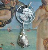 Italien - Venus in Silber mit Perle
