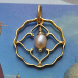 Indien 1 Anna komplett mit Perle