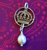Schweden Krone mit Perle