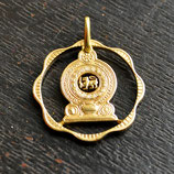 Sri Lanka Nationalsymbol Gold Löwe