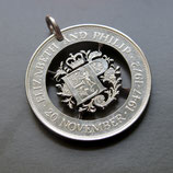Großbritannien 1 Crown Emblem