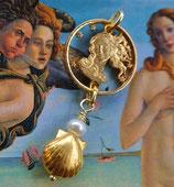 Italien - Venus in Gold mit Perle