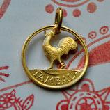 Malawi kleiner Hahn Gold