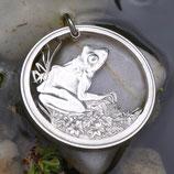 Fiji - großer Frosch Silber
