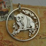 China Pandabär groß Silber