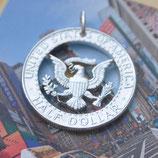 USA Half Dollar Wappenadler