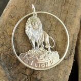 Togo Löwe dünner Rand