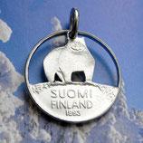 Finnland Eisbär
