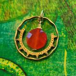 Mexiko Ornament mit Stein