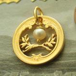 Österreich Ornament mit Perle