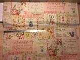 Mélange lin et coton Yuwa japonais patch couture