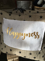 "Motif thermocollant "" Happyness"""