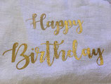 "Motif thermocollant "" Happy birthday"""