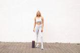 gym set  GREY L/XL