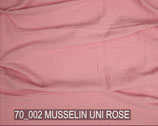 MUSSLIN UNI ROSE