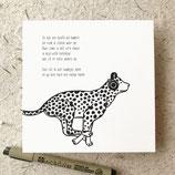 Poeziekaart Luipaard