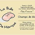 La Bulle de Maryse - CHAMPS DE BLE
