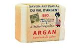 Savon artisanal du Val d'argent - ROSE - 140gr