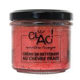 CLAC - Crème de betteraves au chèvre frais 100g