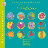 Petites pensées de Voltaire, illustré par Alice de Pétigny