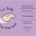 La Bulle de Maryse - LAIT DE LAVANDE