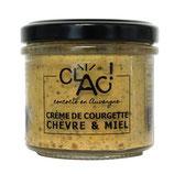 CLAC - Crème de courgettes chèvre miel 100g