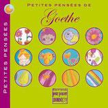 Petites pensées de Goethe, illustré par Alice de Pétigny