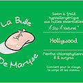 La Bulle de Maryse - HOLLYWOOD