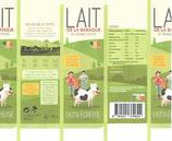 LAIT DE LA BARAQUE - Lait UHT 1 litre