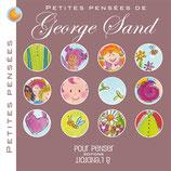 Petites pensées de George Sand, illustré par Alice de Pétigny