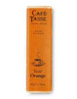 Café Tasse - CHOCOLAT NOIR ORANGE - 45gr
