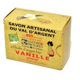 Savon artisanal du Val d'argent - VANILLE - 140gr